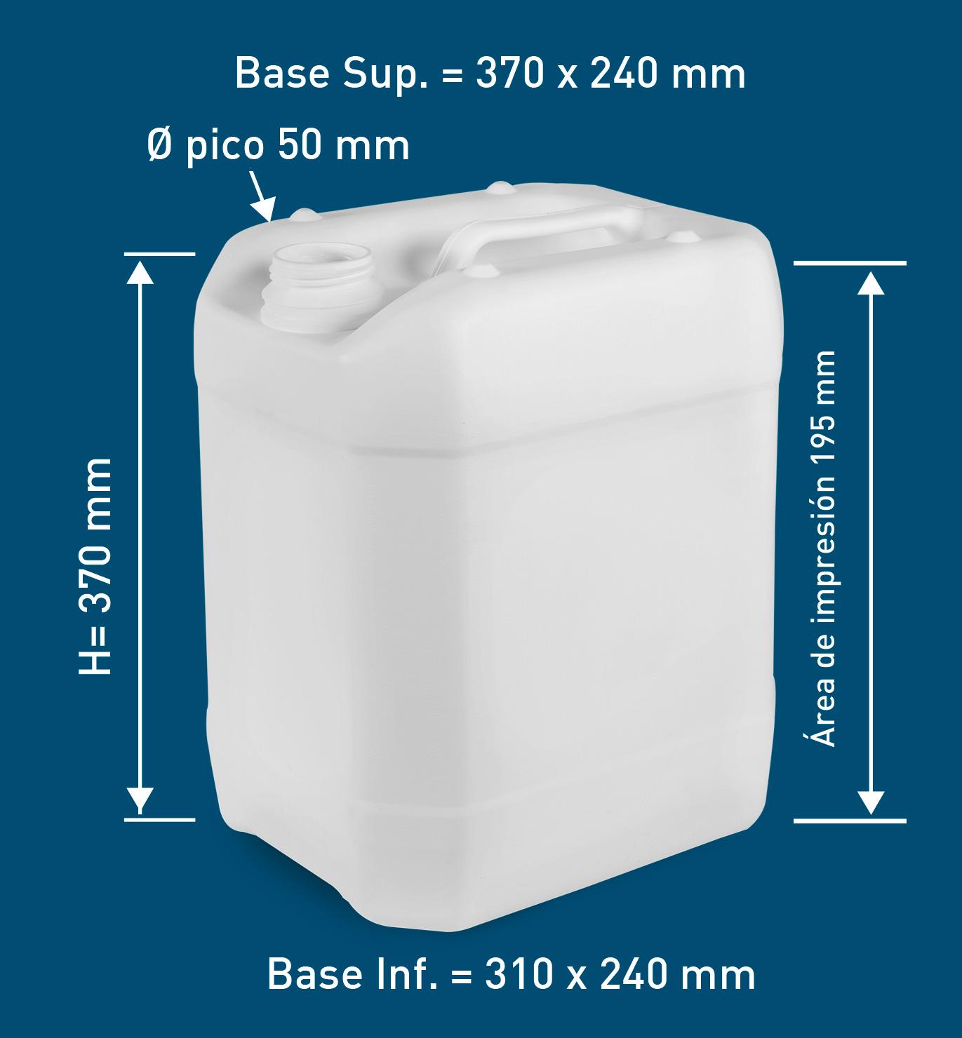Bidones 20 lts p for Bidones de 1000 litros